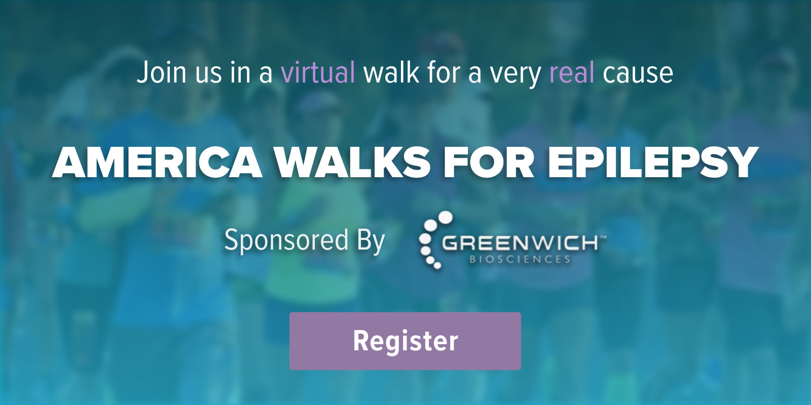 America Walks for Epilepsy Banner